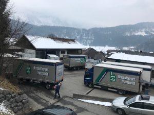 Platzmangel Bischofberger Transporte Bizau